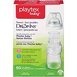 Playtex 5534/5745 4 Oz Drop-Ins® Pre-Formed Soft Bottle Liners