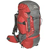 Highlander Outdoor Discovery 65-Liter Rucksack, Red Review