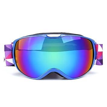 b14098f54cf JT Gafas De Esquí para Niños Invierno Equipo De Alpinismo Al Aire Libre  Doble Anti Niebla