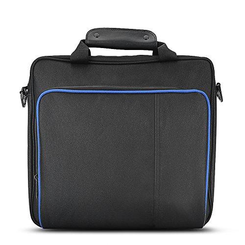 Anauto [ハンドバッグ] PS4用 携帯型ハンドバッグ 旅行収納袋 全面的な保護ショルダーバッグ 強力な耐久性と防水性 PS4のための特定のハンドバッグ