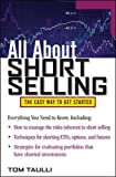img - for All About Short Selling (All About Series) book / textbook / text book