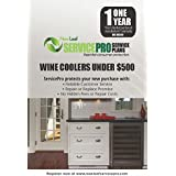 ServicePro 1-Year Service Plan for Wine Coolers Under $500 (WC1U500)