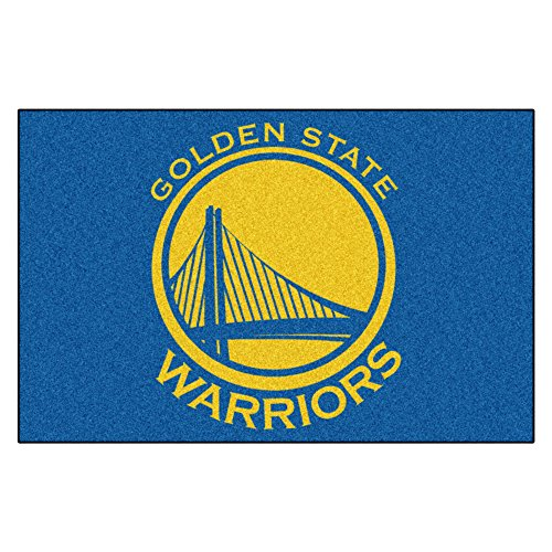Fanmats NBA Golden State Warriors Nylon Face Starter (Fanmats Nba Starter Mats)