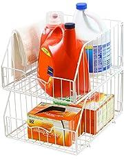SimpleHouseware Kitchen Mutlti-Purpose Shelf Basket Organizer Storage
