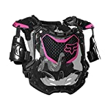 Fox Racing 2020 Women's R3 Roost Deflector (Small/Medium) (Black/Pink)