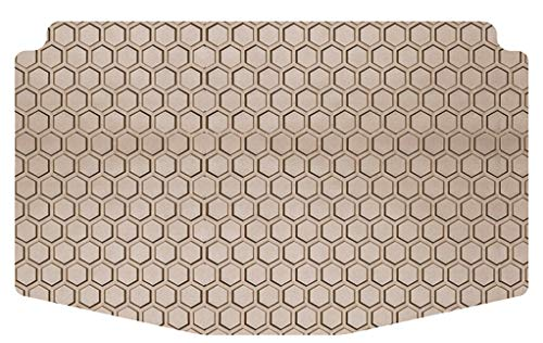 Intro-Tech AC-646-RT-T Hexomat Cargo Area Custom Floor Mat for Select Acura RDX Models - Rubber-Like Compound, Medium, Tan ()