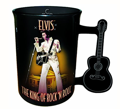 Elvis Presley Mug With Guitar Handle