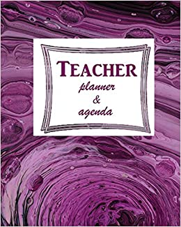 Amazon.com: Teacher Planner & Agenda: Calendar 2019 -2020 ...