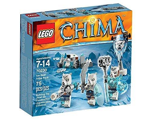 LEGO (LEGO) Cima Tribe pack polar bear family 70230
