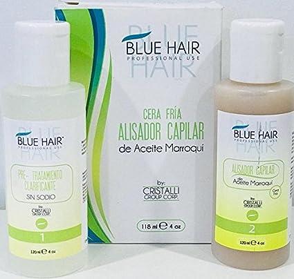 Amazon.com : HAIR SURGERY BLUE HAIR CERA FRIA (SHAMPO-TREATMENT) 4 ...