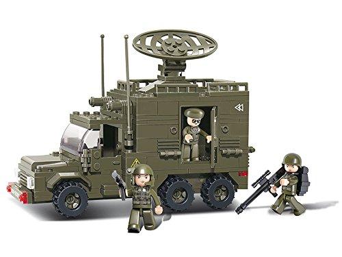 Sluban Radar Truck Army Building Kit (230 ()