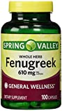 Spring Valley - Fenugreek 610 mg, 100 Capsules