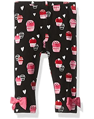 Baby Girls' Cupcake Leggings