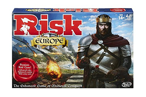 Risk European Edition by Hasbro