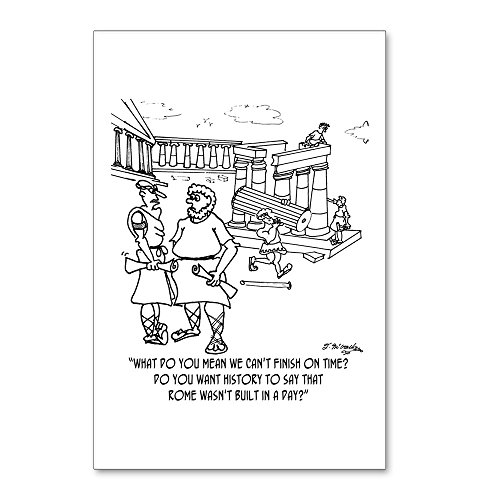 CafePress - Rome Wasn't Built In A Day? Postcards (Package Of - Postcards (Package of 8), 6