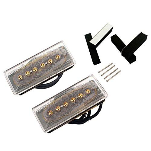 Electric Guitar Parts Alnico V Soap Bar P90 Humbucker Pickup Bridge Neck Set