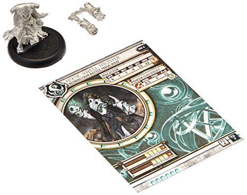 Privateer Press - Warmachine - Retribution: House Shyeel Magister Solo Model Kit 3