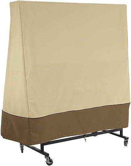 Hochwertige wasserdichte staubdichte Abdeckung Tischtennisplatte Schutzhülle