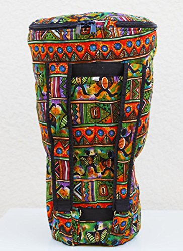 Tribal Motif Djembe Bag, XL: 24