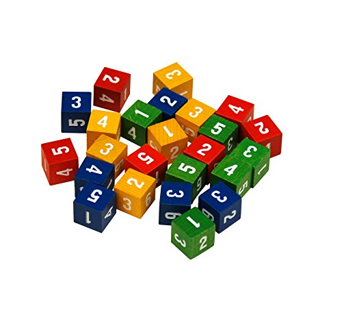 Learning Advantage 7400 Place Value Cubes (Pack of 24)