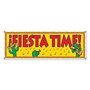 Fiesta Sign Banner Party Accessory (1 count) (1/Pkg) from The Beistle Company