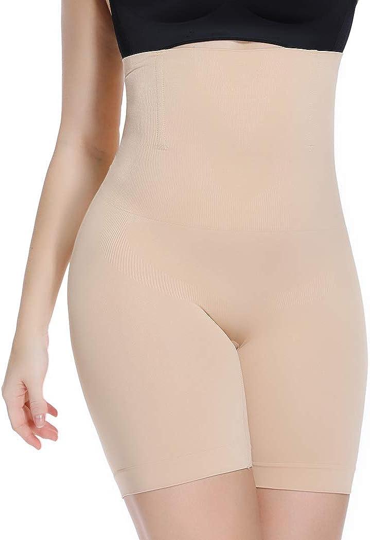 WOWENY Seamless Butt Lifter Shapewear Tummy Control High Waist Thigh Shaper Slimmer Shaping Shorts
