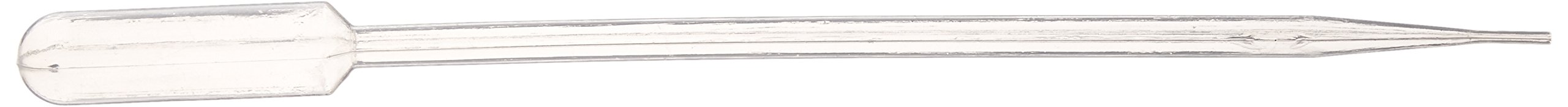 Globe Scientific 139050 LDPE Extra Long Transfer Pipet, Non-Sterile, 300mm Length, 23.0mL Capacity (Box of 100)