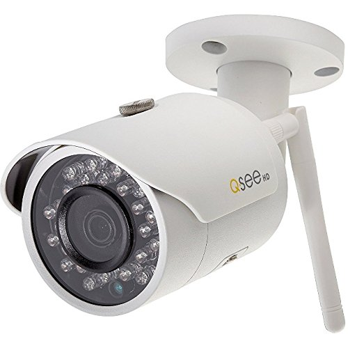 Q-see 3MP Wi-Fi Bullet Security Camera -  QCW3MP1B