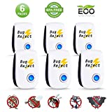 Best Indoor Mosquito Repellents - Bug Reject Ultrasonic Repeller, 2019 Newest Electronic Pest Review
