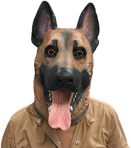 ypyrhh máscaras de Animales,Sombrero de Perro Lobo Lindo,Novedad ...