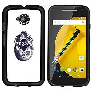 Caucho caso de Shell duro de la cubierta de accesorios de protección BY RAYDREAMMM - Motorola Moto E2 E2nd Gen - Resumen Amigos