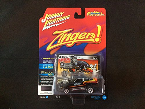 Johnny Lightning 1:64 Street Freaks Ver A Zingers 1972 Chevy Vega Black Shimmer