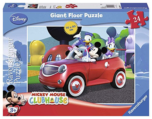 (Ravensburger Disney Mickey Mouse Club House 24 Piece Giant Floor Puzzle)