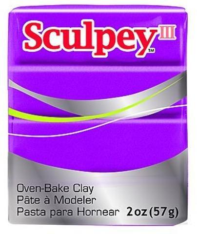 (Sculpey Modeling Compound III (Fuchsia Pearl) 5 pcs sku# 1835189MA)