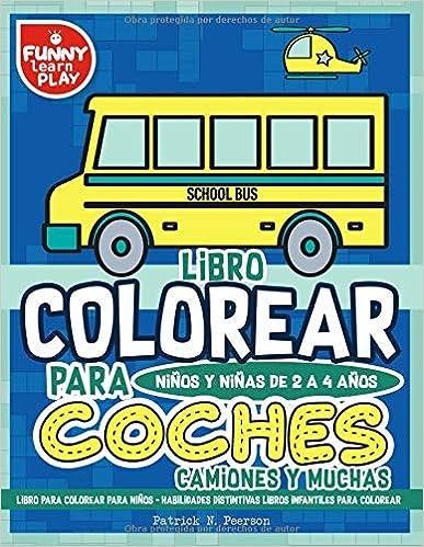 Libro para Colorear para Niños - Habilidades Distintivas Libros ...