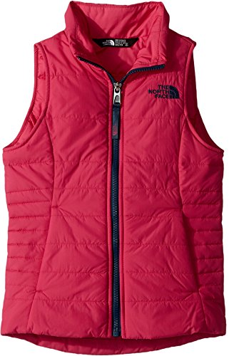 The North Face Sleeveless Vest (The North Face Kids Girl's All Season Insulated Vest (Little Kids/Big Kids) Petticoat Pink Medium)