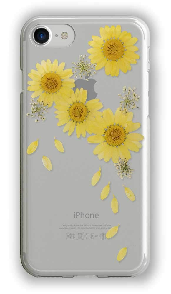 best service 7064e 4d047 Amazon.com: Recover Real Flower iPhone 8 Case/iPhone 7 Case/iPhone 6 ...