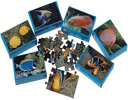 Under The Sea ~ 12 - Mini Tropical Fish Puzzles Party Favors and Toys