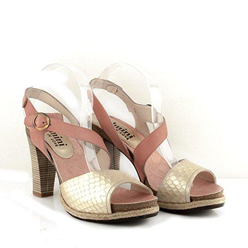 Felmini - Zapatos para Mujer - Enamorarse com Dania 8977 - Sandalias - Cuero Genuino - Varios colores Varios colores