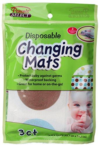 Disposable Changing Mats Bulk Case of 24
