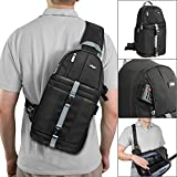 Photo : Altura Photo Camera Sling Backpack for DSLR and Mirrorless Cameras (Canon Nikon Sony Pentax)