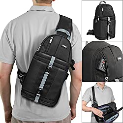 Altura Photo Camera Sling Backpack For Dslr & Mirrorless Cameras (Canon Nikon Sony Pentax)