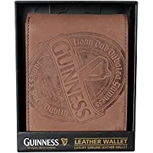 Guinness Brown Leather Wallet Label