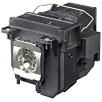 QueenYii ELPLP71 Compatible for EPSON BrightLink 485Wi Replacement Projector Lamp with bulb inside