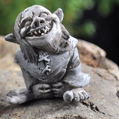 Fairy Garden Toader Troll : Garden & Outdoor