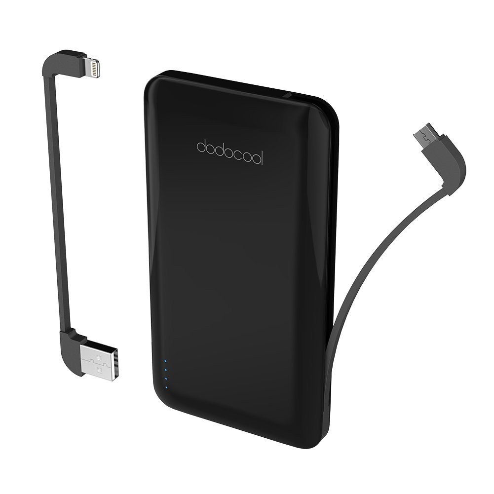 Power-bank dodocool 10000 mAh certificato MFi