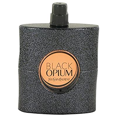 YSL Eau De Parfum Spray for Women, Black Opium, 3 Ounce