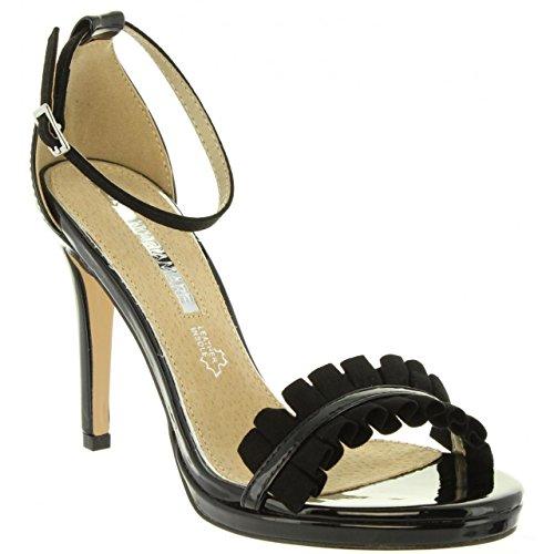 Charol pour Sandales Mare C33016 Maria Negro Femme 67103 wYqavvFgx