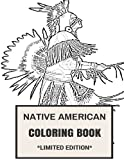 img - for Native American Coloring Book: Cultural Native American and Red Men Inspired Adult Coloring Book (Adult Coloring Books) book / textbook / text book
