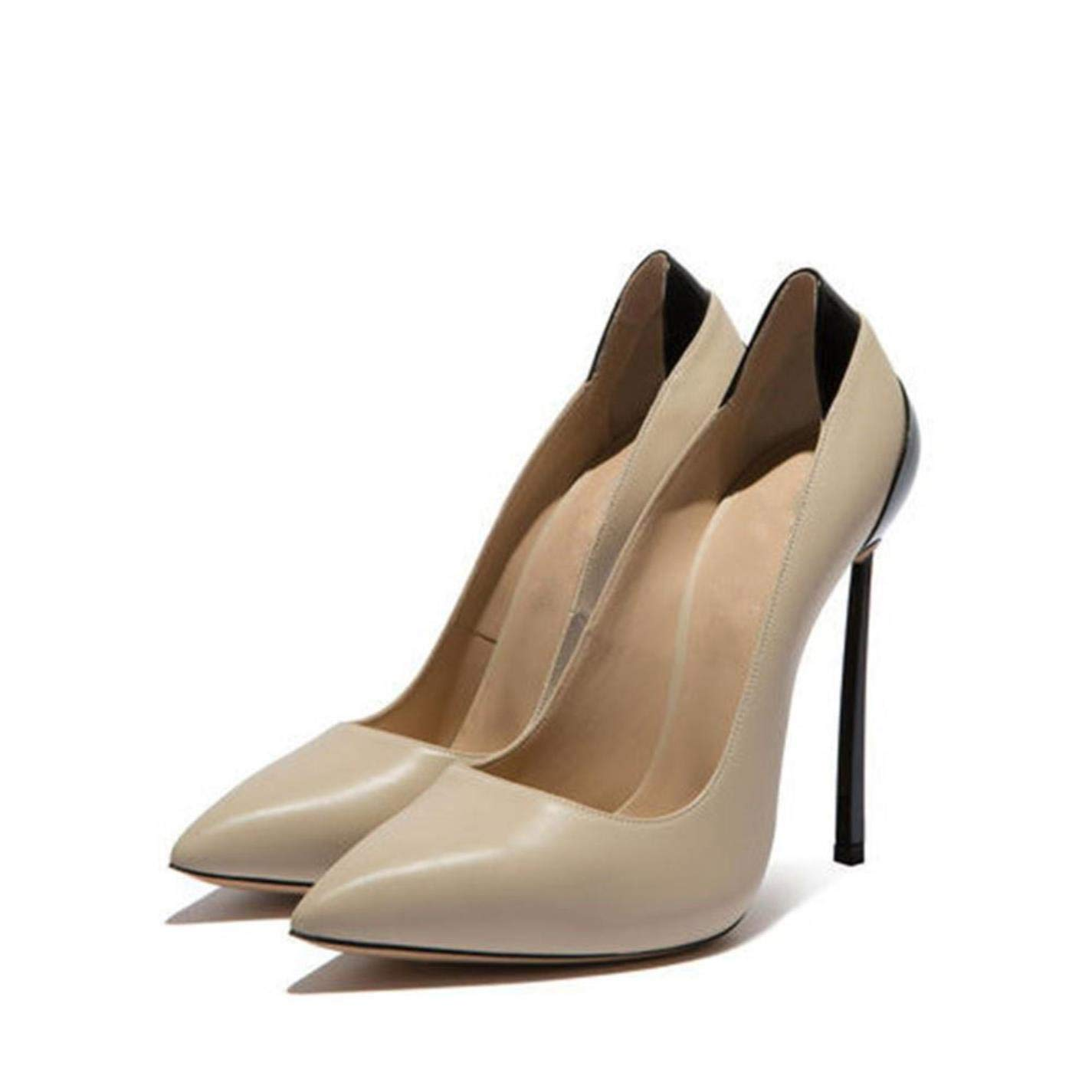 - Slip On High Heels Metal Party shoes Slip On Pumps Woman shoes